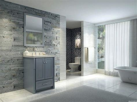 Grey Bathroom Paint Dark Gray And White Bathroom White And