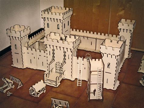 Laser Cut L Plans by Awesome Laser Cut Castle Attack Features Working
