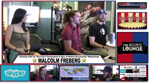 THE LOUNGE: GAMING W/ SURVIVOR'S MALCOLM FREBERG - YouTube