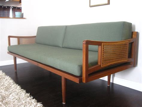 mid century danish modern peter hvidt style sofa daybed