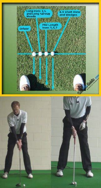 Golf Driver Swing by Driver Vs Iron Swing The Correct Start Position And Swing