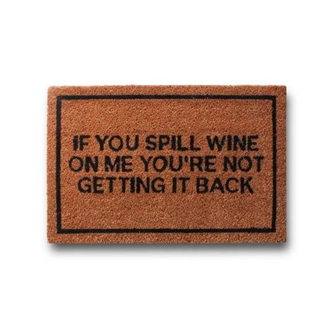 Rude Doormats by Clever Rude Doormats Bellechic
