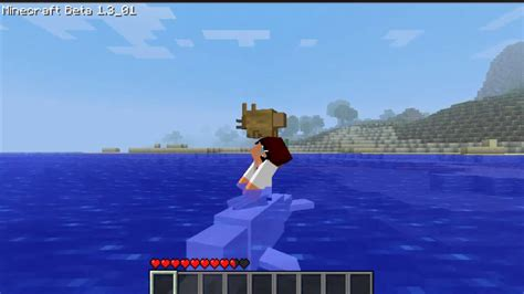 minecraft episode  mo creatures dolphins ipodmail