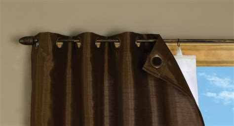 Grommet Insulated Curtain Liners by Ildeal Multi Purpose Energy Efficient Insulated Liner