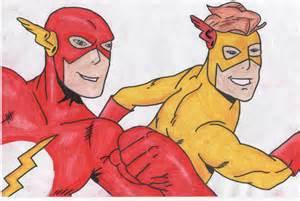 Kid Flash Drawing