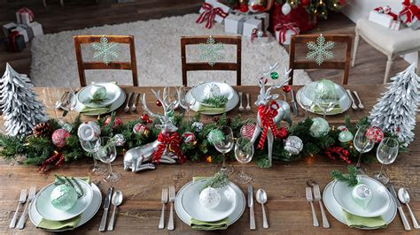 deck   holiday table   decor ideas