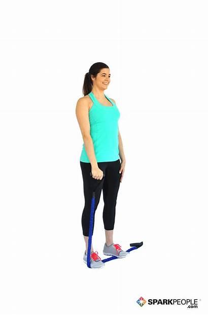 Raises Band Single Arm Exercises Exercise Shoulder