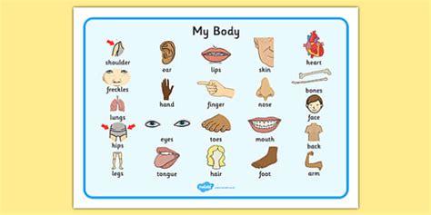 body word mat teacher