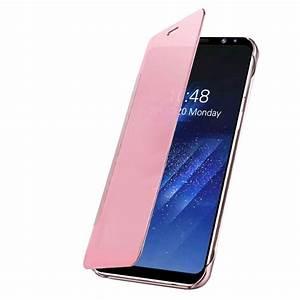 Handyhülle Galaxy S6 : galaxy s6 handyh lle in rosa mit intelligenter display ~ Jslefanu.com Haus und Dekorationen
