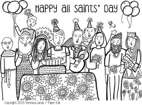 all saints day coloring page free to print and 632 | 4f173e67cfa1a2e1cb8b983e9c443a18