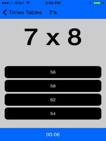 times tables multiplication study app math 233 matiques edululu