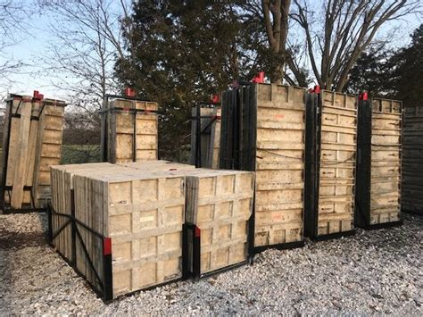 for sale used aluminum concrete forms w smooth faces