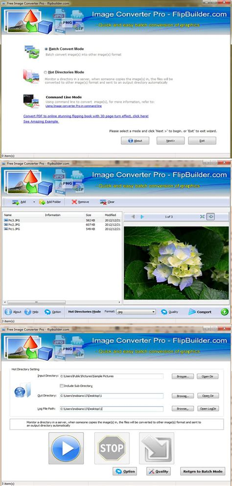 Free Image Converter Professional: Quick and easy to