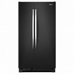 French Door Refrigerator  Ge 22 Cubic Foot Refrigerator