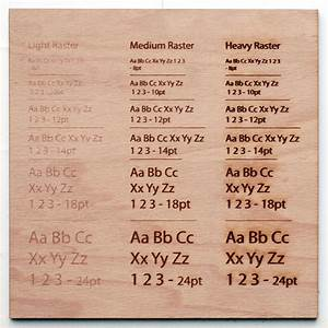 How far into the material does laser engraving cut?