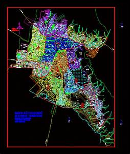 Plano Urbano De Cochabamba En Autocad