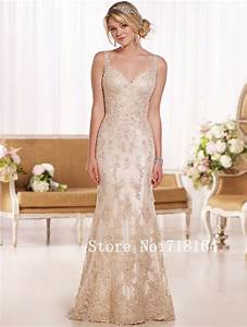 aliexpresscom buy white ivory champagne sexy backless With ivory champagne wedding dress