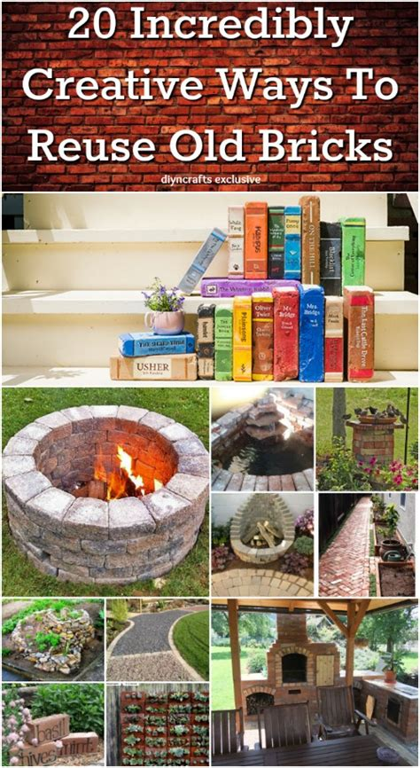 20 Incredibly Creative Ways To Reuse Old Bricks  Diy & Crafts