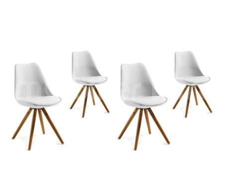 chaise salle a manger noir chaise noir et blanc design maison design bahbe com
