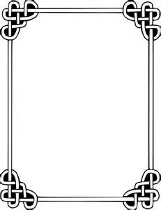 wedding menu template knot border page frames rope knot border png html