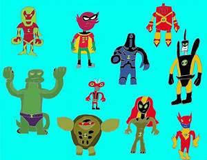 Ben 10 Alien Superheroes by LightningStrike83 on DeviantArt