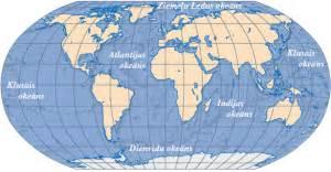 Pasaules okeāns — teorija. Dabaszinības, 6. klase.