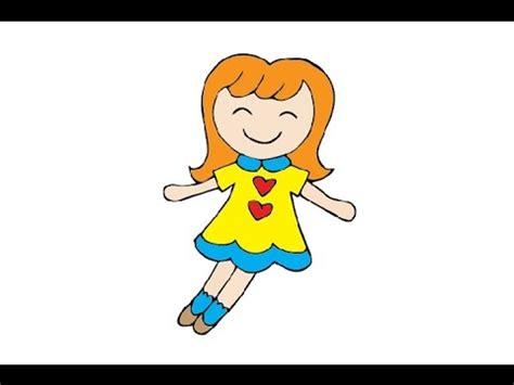 draw  doll easy step  step kak narisovat