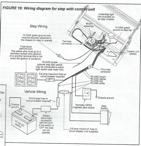 kwikee electric step wiring diagram wellread me