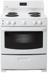 Danby Der3099w 30 Inch Freestanding Electric Range With 4