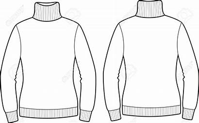 Sweater Clipart Turtleneck Vector Illustration Clipground Views