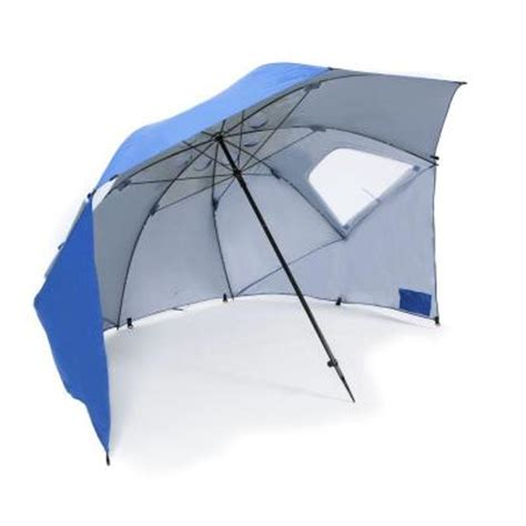 sport brella chair home depot sport brella 8 ft portable shade and weather umbrella in