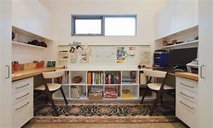 19 cool study room design ideas for teenagers With interior design teen room study