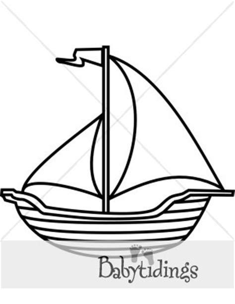 Balangay Boat Drawing by Simple Sailboat Clipart Clipart Panda Free Clipart Images