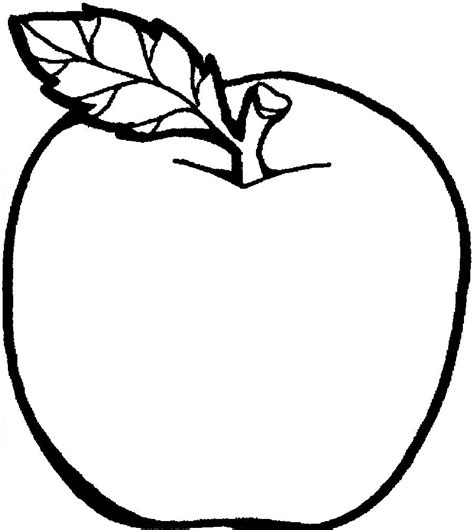 apple coloring pages  large images  therapy