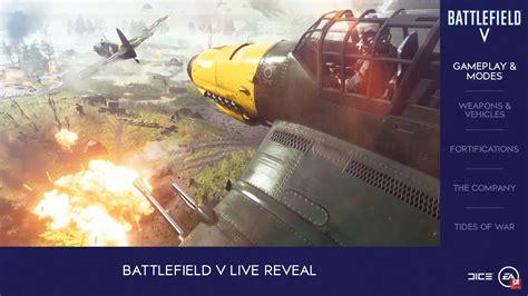 WW2 Setting Confirmed In Battlefield 5 Live Reveal