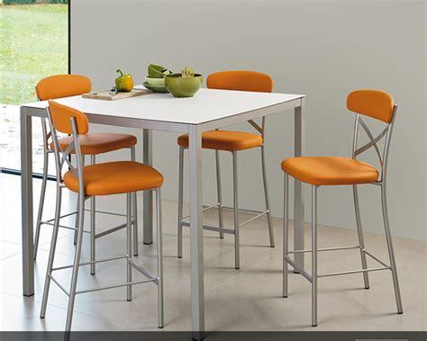 table de cuisine haute table et chaise haute pour cuisine