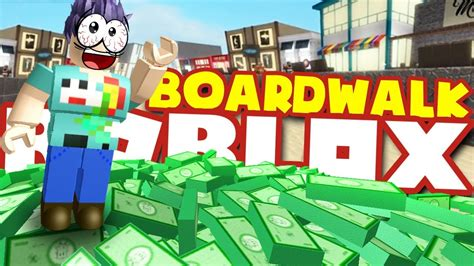How To Get *rich* In Boardwalk Tycoon!! Brand New Roblox
