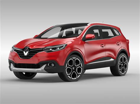renault car models renault kadjar 2016 3d model buy renault kadjar 2016
