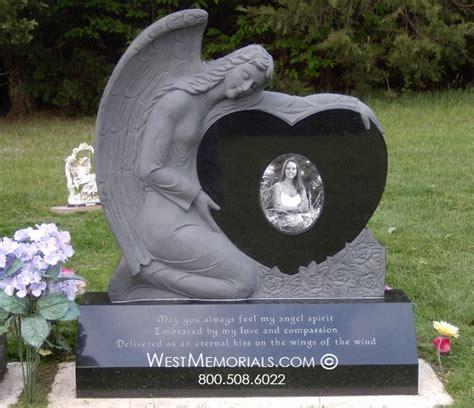 memorial granite headstones west memorials