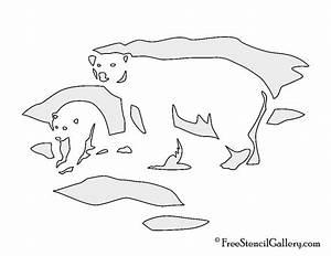 Best Photos of Standing Polar Bear Template - Standing ...