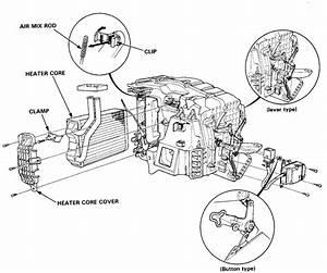 2004 Honda Civic Heater Core Diagram  Honda  Auto Parts