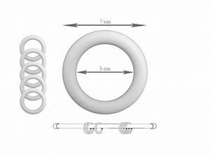 Anneaux Rideaux à Clipser : accessoires pour tringles rideaux royal tiss ~ Premium-room.com Idées de Décoration