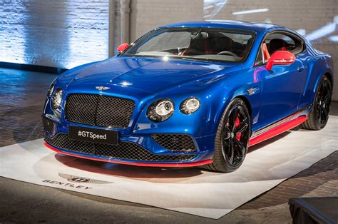 2017 Bentley Continental Gt Speed Starts At 0,300