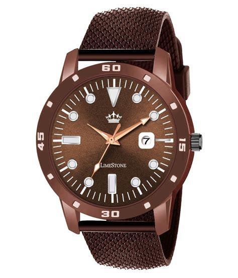 LimeStone LS2848 Rolex Design Silicon Analog Men's Watch ...