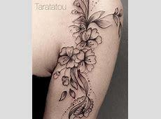 Tatouage Fleur Cerisier Japonais Poignet Tattoo Art