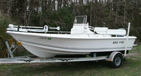 Sea Pro Bay Boat by 2006 19 Sea Pro Boats Sv 1900 For Sale In Fort Myers