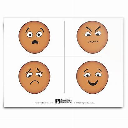 Feeling Faces Discipline Conscious Sad Angry Happy