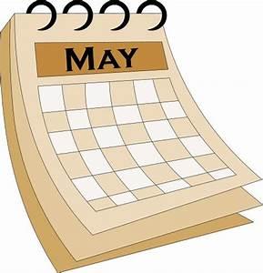 Image Gallery may calendar clip art