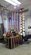 office birthday decorations Balloons, Happy Birthday, birthday decorations, cubicle decorations, desk decoration | birthday