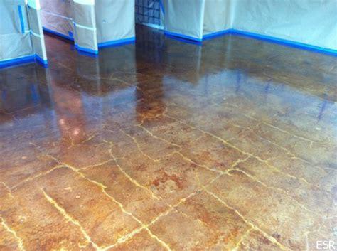 Concrete Floor Staining, Home Depot Concrete Stain Acid